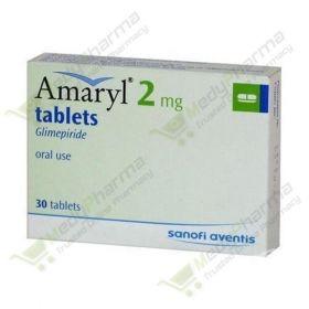 Buy Amaryl 2 Mg Online