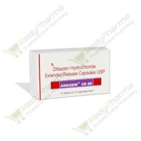 Buy Angizem CD 90 Mg Online