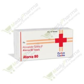 Buy Atorva 80 Mg Online