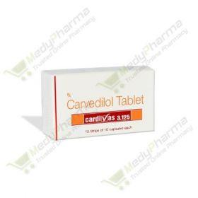 Buy Cardivas 3.125 Mg Online