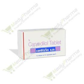 Buy Cardivas 6.25 Mg Online
