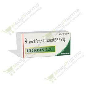 Buy Corbis 2.5 Mg Online
