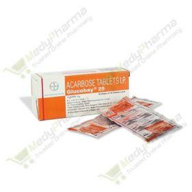 Buy Glucobay 25 Mg Online