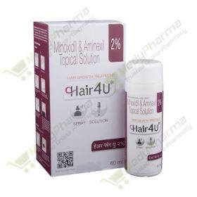 Buy Hair 4U 2% Topical Solution Online