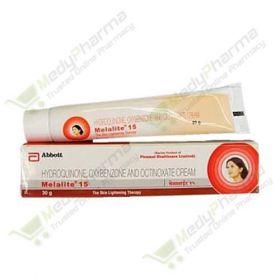 Buy Melalite 15 Cream Online