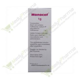 Buy Monocef 1 Gm Injection Online