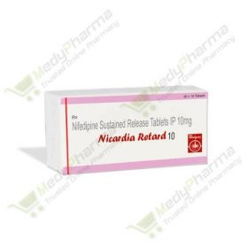 Buy Nicardia Retard 10 Mg Online