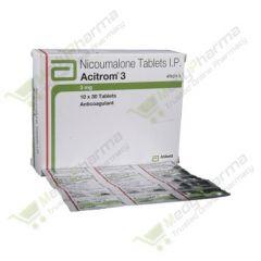 Buy Acitrom 3 Mg Online
