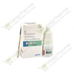 Buy Bimat Eye Drop (With Brush) Online