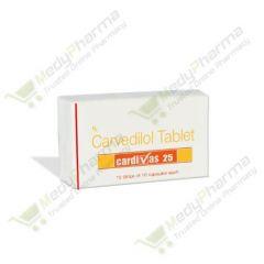 Buy Cardivas 25 Mg Online