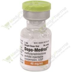 Buy Depo-Medrol 40 MgInjection (1 ml) Online