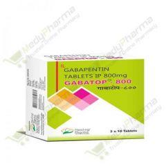 Buy Gabatop 800 Mg Online