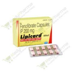 Buy Lipicard 200 Mg Online