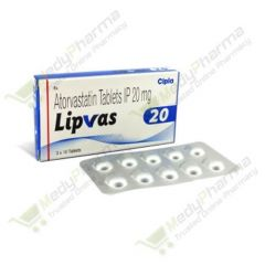 Buy Lipvas 20 Mg Online