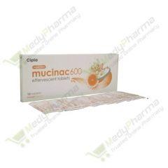 Buy Mucinac 600 Mg Effervescent  Online