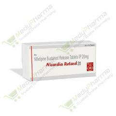 Buy Nicardia Retard 20 Mg Online