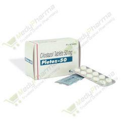 Buy Pletoz 50 Mg Online